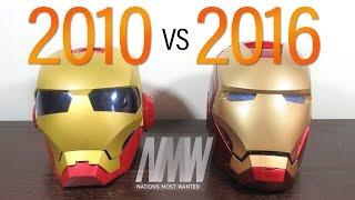 Hasbro Iron Man 2 VS Marvel Legends Iron Man Helmet