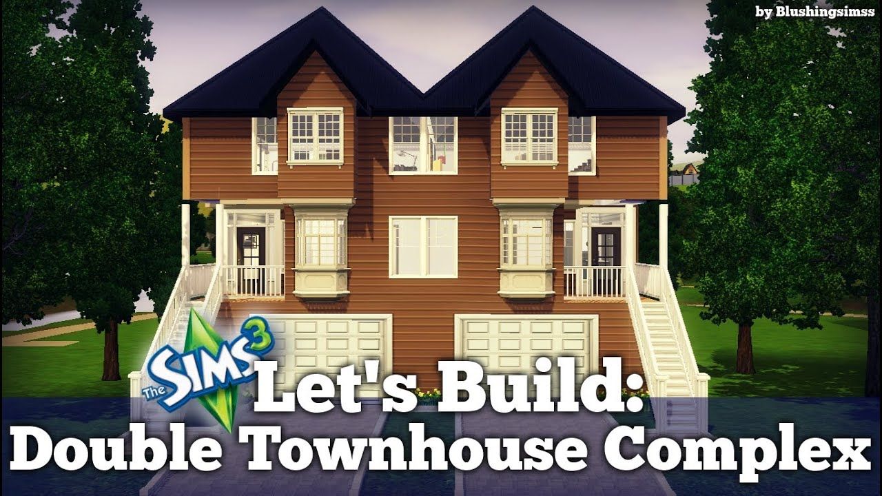Sims  How To Build Town Houses