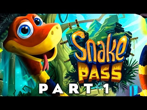 SNAKE PASS - Slither Your Way To Victory!! (Snake Pass Walkthrough Gameplay Part 1)