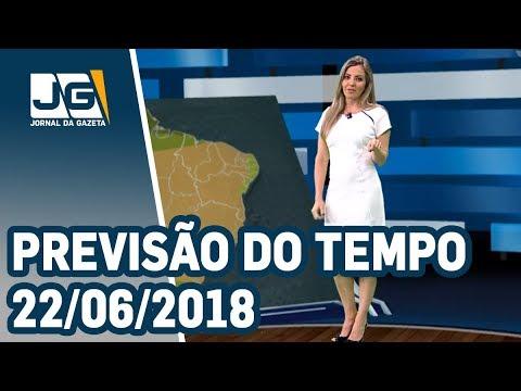 Previsão do Tempo - 22/06/2018