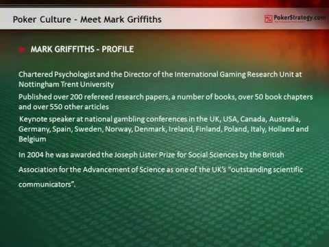 Meet the Gambling Professor: an Interview to Mark Griffiths