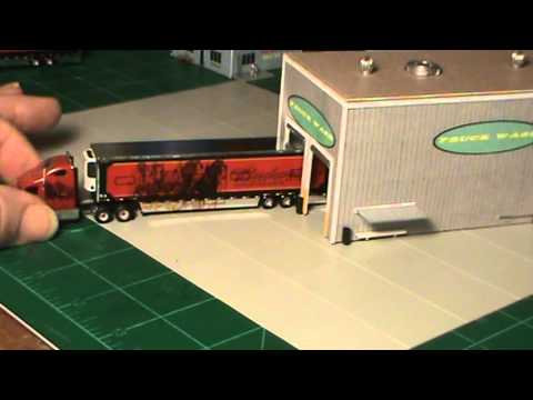 N Scale – TRUCK STOP Project
