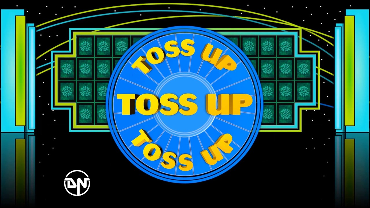wheel of fortune - toss up powerpoint (cues comparison) - youtube, Powerpoint templates