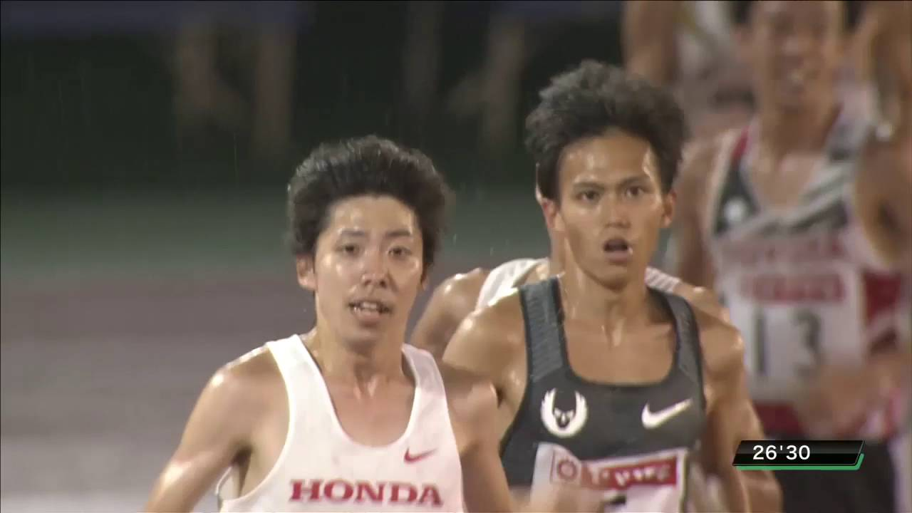 男子10000m 決勝 第100回日本陸...
