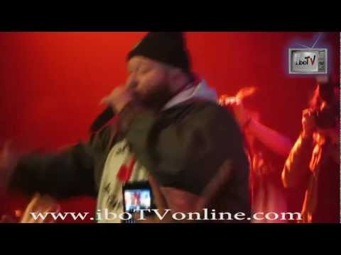 Curren$y & Action Bronson Perform LIVE SOBs NYC 1/3/13