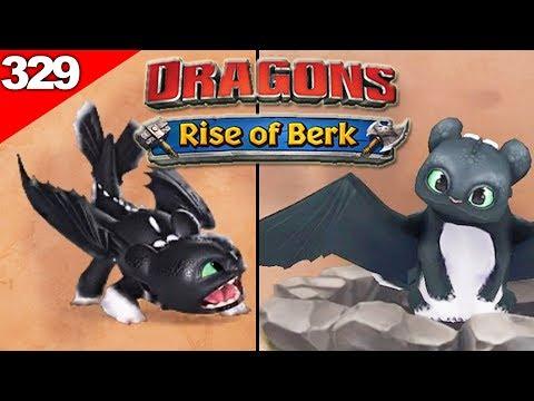 Toothless's Baby - Night Light #1 | HTTYD Dragons: Rise Of Berk