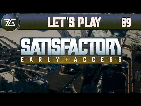 Satisfactory - Ep 89 A Concrete Finish