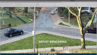Residents temporarily redesign intersection to get city's attention