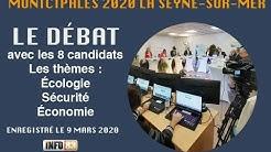 MUNICIPALES 2020 LA SEYNE Le grand débat avec les 8 candidats