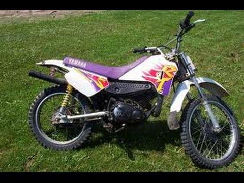 Yamaha dirtbike rt 100 cold start youtube for 100cc yamaha dirt bike