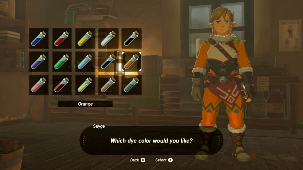 Snowquill Armor Set The Legend Of Zelda Breath Of The