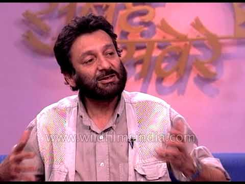 Shekhar Kapoor, Indian filmmaker speaks about digital filmmaking