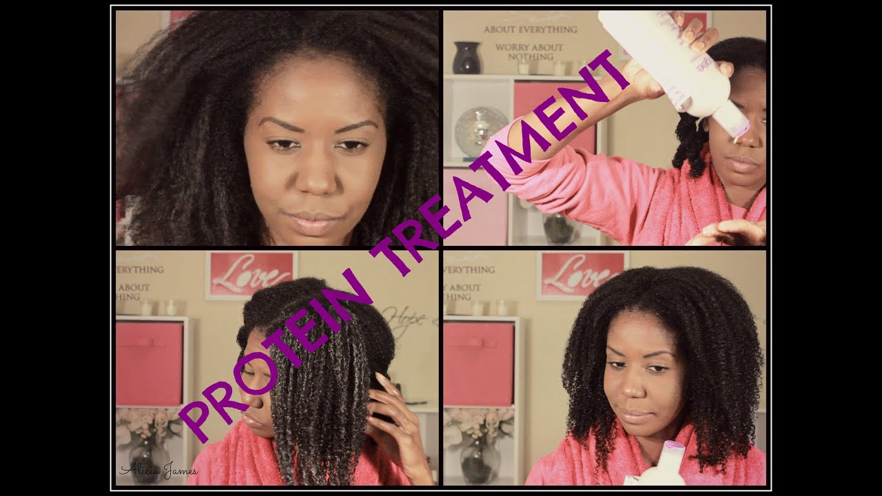 Aphogee Protein Treatment On My Natural Hair Youtube