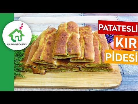 Patatesli Kır Pidesi Tarifi - Hamuru Tam Kıvamında Yumuşacık Kır Pidesi Tarifi