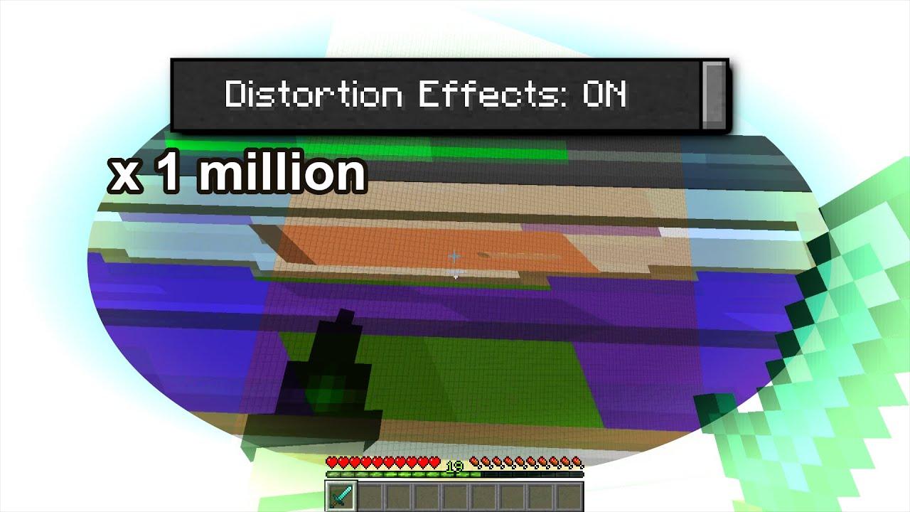NEW Distortion Effect in Minecraft