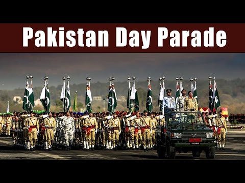 Pakistan Day Parade - Military Display Power with Chinese, S