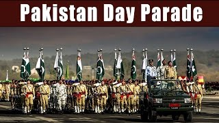 Pakistan Day Parade - Military Display Power with Chinese, Saudi, Turkish Army