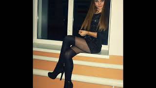Красивые девушки, короткие юбки, чулки и высокие каблуки.Sexy Girls.7
