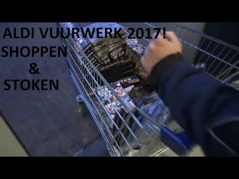 ALDI CAT 1 VUURWERK SHOPPEN EN AFSTEKEN 2017!