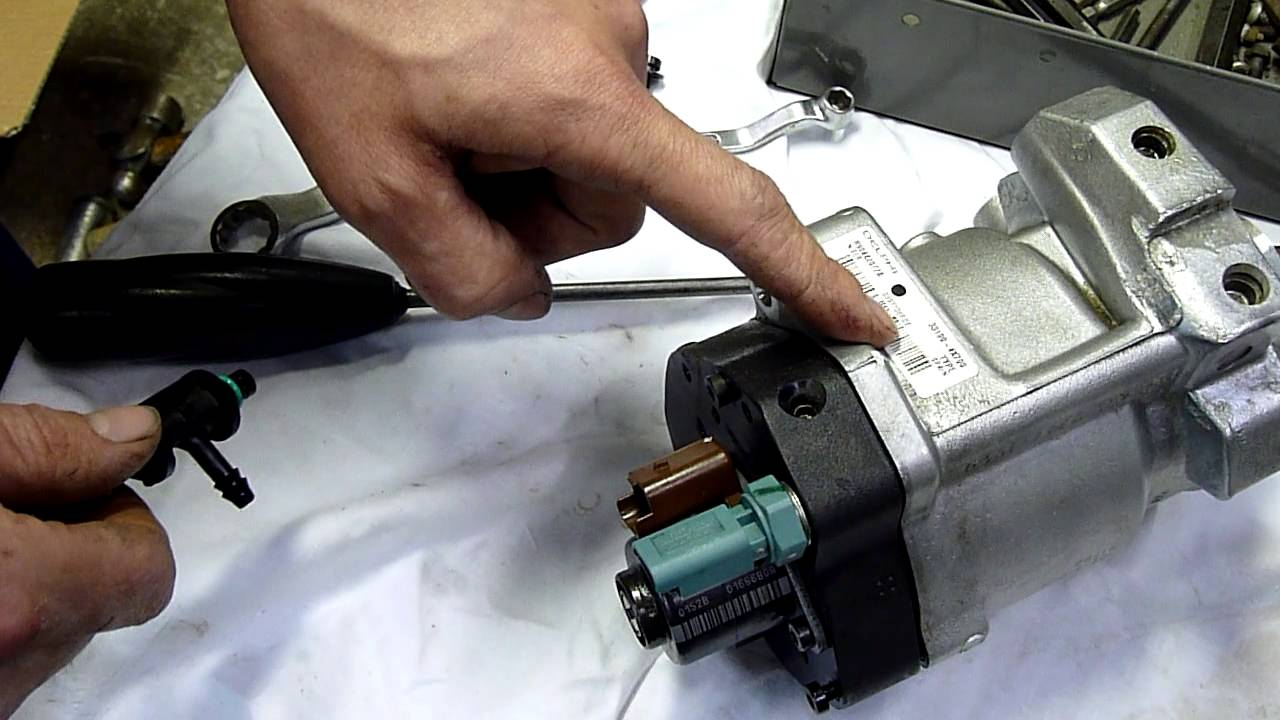 hight resolution of delphi common rail diesel pump autopsy pt1 hyundai terracan and kia k2700 pump youtube