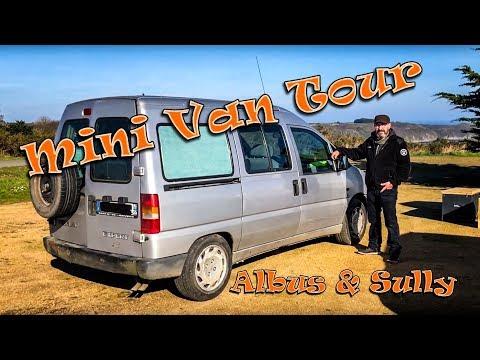 MINI VAN TOUR (DIY) - Albus & Sully