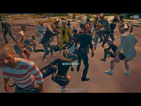 PUBG moment's #6: In-game lobby dance party