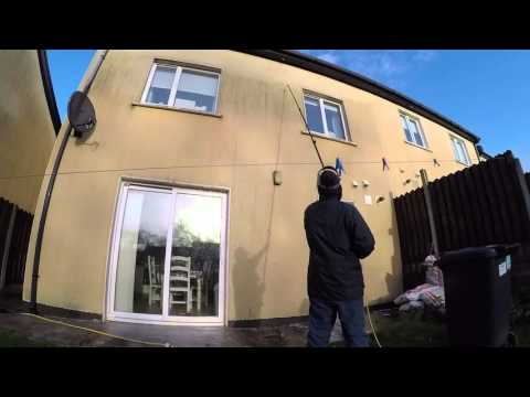 Render Soft Washing Cleaning Practical Demonstration – 1