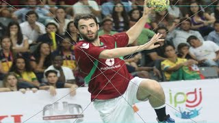 Portugal vs Brazil - Mens Final - 22nd World University Handball Championship 2014 - Guimares