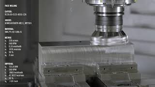 Face Milling Application with Turbo 16   Seco Tools