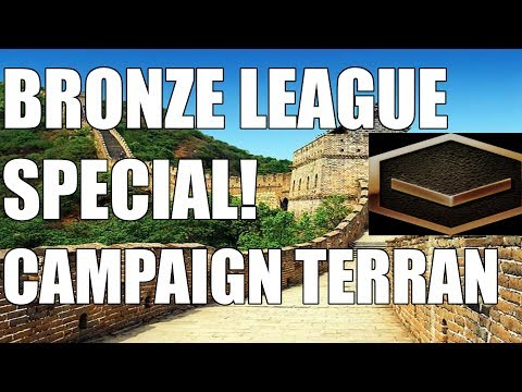 BRONZE LEAGUE HEROES IN THE WILD! The Campaign Terran