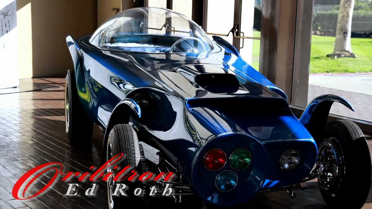 Ed Roth Orbitron Clip Lb Motorama Power Brake Tv Youtube