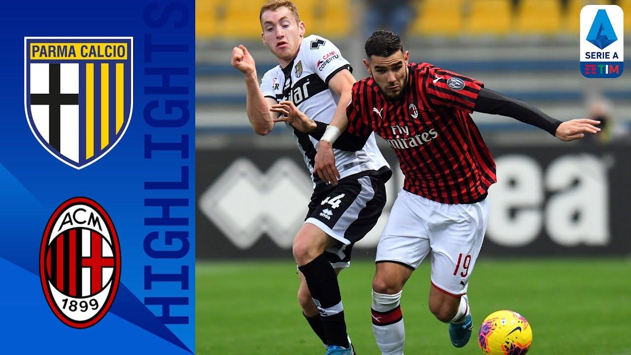 Парма  0-1  Милан видео