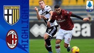 Parma 0-1 Milan | Zampata di Theo Hernandez, i rossoneri tornano al successo | Serie A