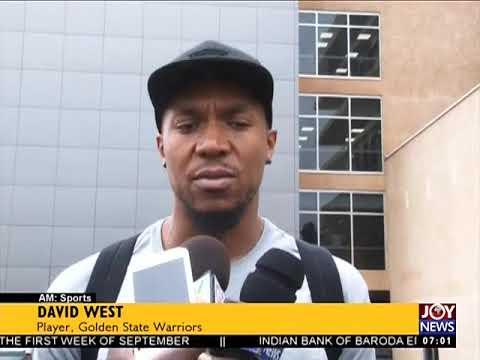 Basketball Clinic - AM Sports on JoyNews (14-8-17)
