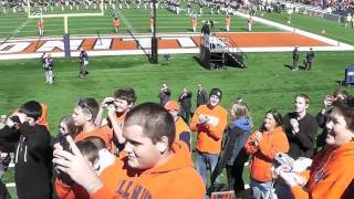 Chief Illiniwek 2011 Homecoming Video