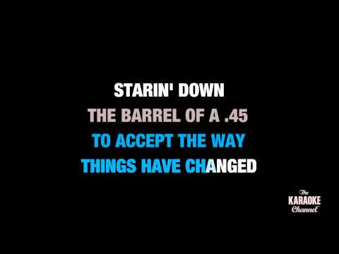 "45 in the Style of ""Shinedown"" karaoke video with lyrics (no lead vocal)"