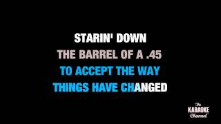 """45 in the Style of """"Shinedown"""" karaoke video with lyrics (no lead vocal)"""