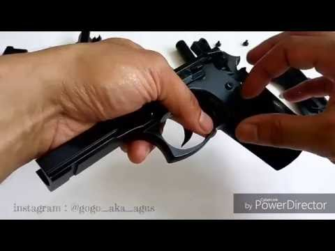 Disassembly and Assembly beretta Taurus PT99