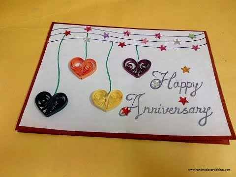 how to make a handmade anniversary card for husband complete