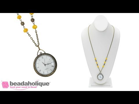 How to Embellish a Pocket Watch Chain