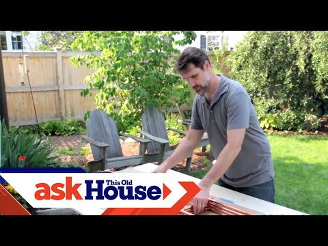 How to Build a Copper Trellis | Ask This Old House