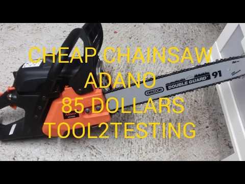 CHEAP CHAINSAW ADANO 85 DOLLARS