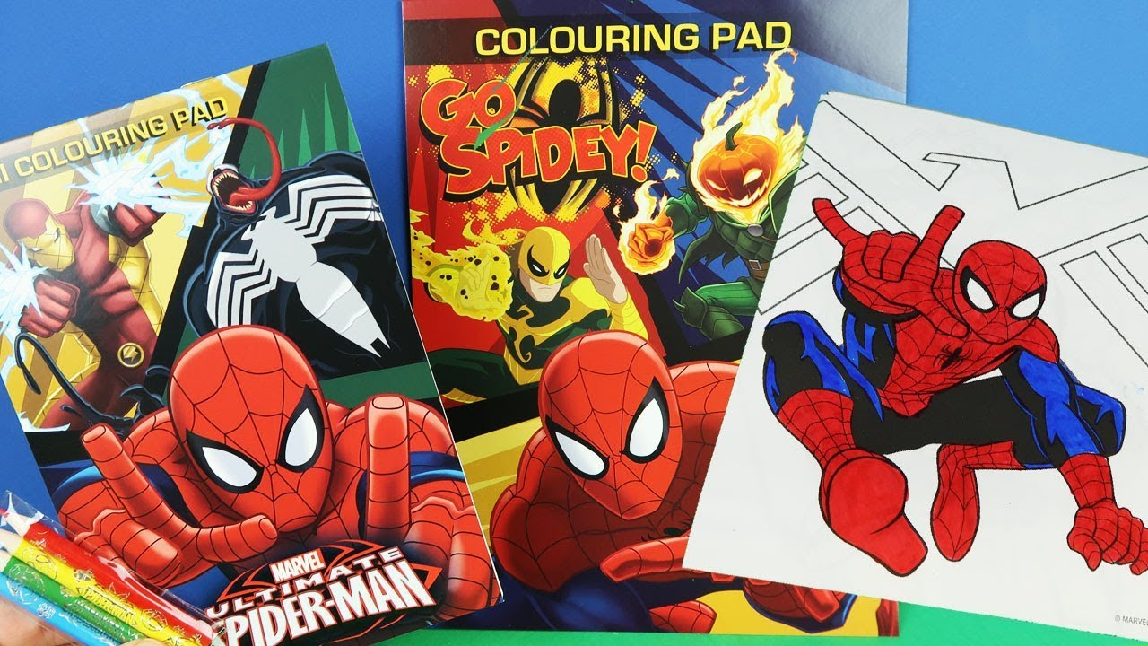 Spiderman Coloring Pages For Kids How To Color Spiderman Coloring