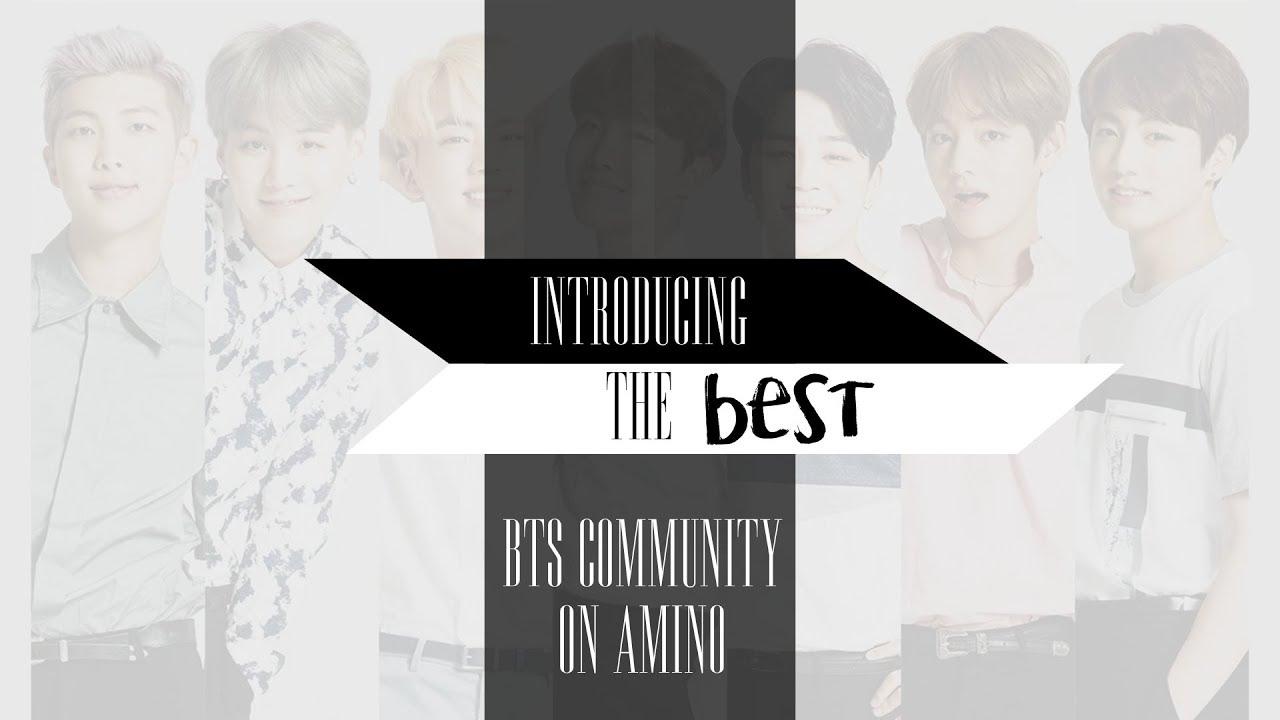 Introducion to BTS 방탄소년단 ✮ Amino