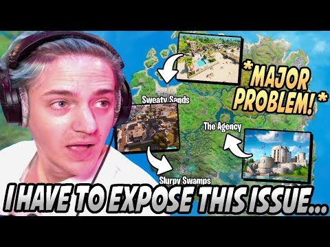 Ninja GOES OFF After EXPOSING The BIGGEST ISSUE About The Current Map On Fortnite!
