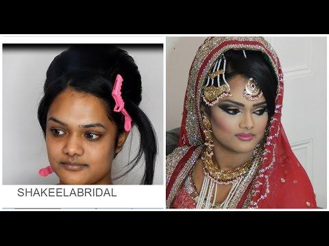 Mughal Inspired India & Pakistan Asian Bridal Wedding Makeup Tutorial