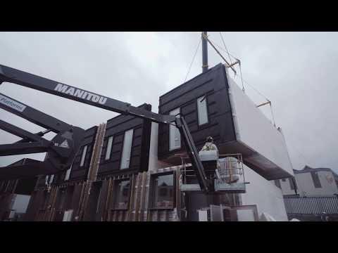 George Clarke and TDO's modular housing for Urban Splash