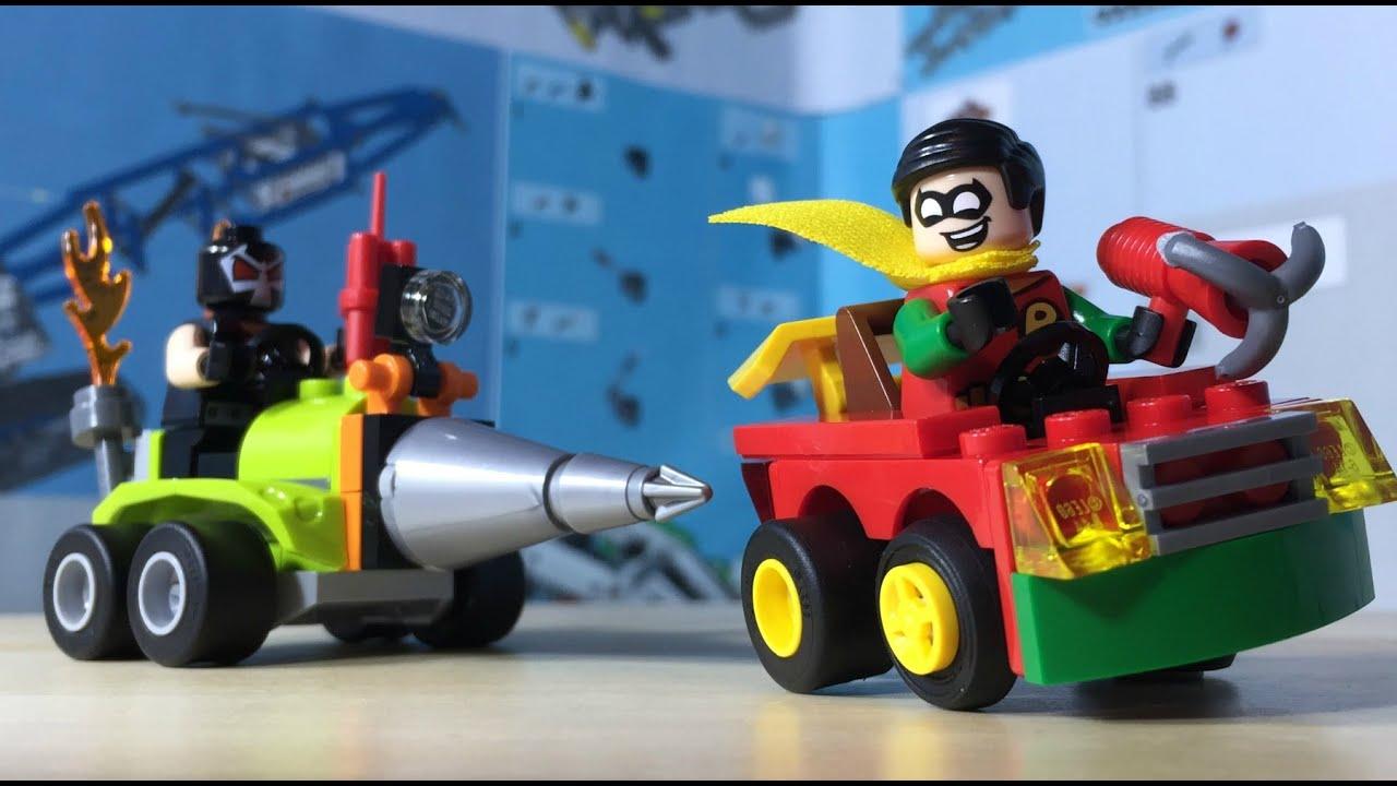 Lego Mighty Micros Robin vs Bane 76062 Speed Build
