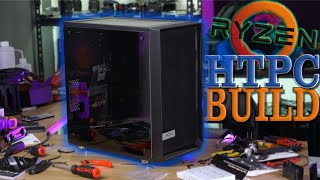 Ryzen 3000 HTPC - Build Vlog