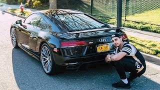 One of FaZe Rain's most viewed videos: MY NEW CAR - FIRST 2017 AUDI R8 IN AMERICA
